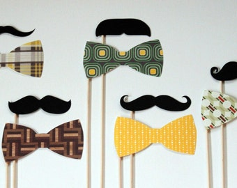 Hipster Photo Booth Props. Photobooth Props. Wedding Photo  Props. Big City Bright Lights