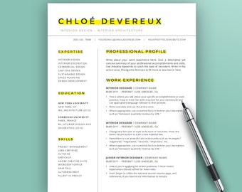 download creative resume template