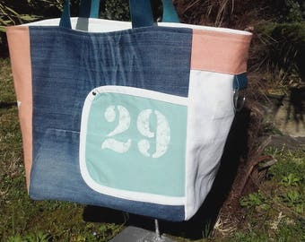 Large tote pattern - Pocket n ° 29