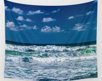 Wave Ocean Tapestry Sea Tapestry Wave Tapestry Sunshine Tapestry Photo Tapestry Sea View Tapestry Wall Hanging Sky Tapestry Sea Tapestry