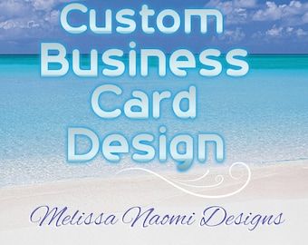 Custom Business Card Design, Personalized Business Card For Personal Or Professional Use, Original Design Work, DIGITAL FILE, Card Layout