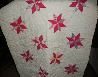 Quilted Star Handmade  Baby Blanket