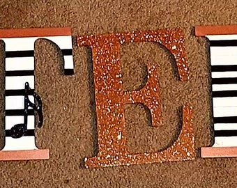 9 1/2 IN Wood Wall Hanging Letters