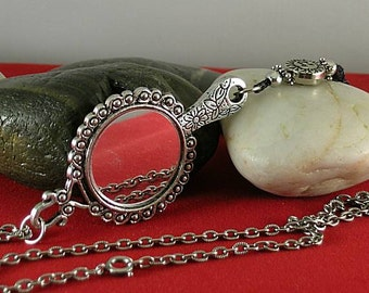 Celestial Girdle Mirror - Elizabethan Renaissance Necklace
