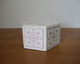 12 boxes favors wedding, christening, customizable by color