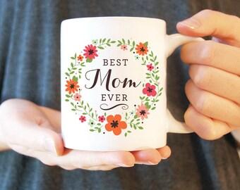 Une tasse de café #15 - meilleur maman | Tasse en céramique blanche | Une tasse de café | Tasse de thé