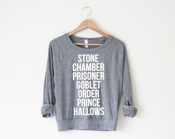 Books Women's Pullover by So Effing Cute - USA - inspired by Harry Potter