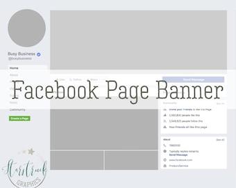 Custom Facebook Page Header Design - Graphic Design for Facebook