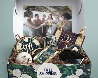 Personalized Bridesmaid Box Will You Be My Bridesmaid Gift Box Bridesmaid Gift Set Bridesmaid Proposal Gift Bridal Party Gift Bridal Party