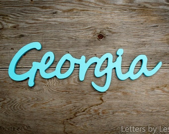 Nursery Decor, Nursery Letters, Wooden Letters for Nursery, Nursery Name Sign, Nursery Wall Decor, Baby Girl Decor, Baby Boy Decor