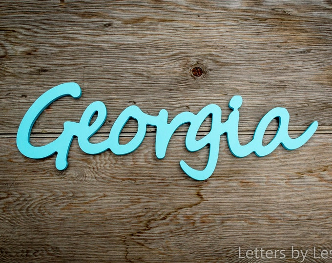 Nursery Decor, Nursery Letters, Wooden Letters for Nursery, kids personalized name signs, Baby Name Sign, Wall Art Baby Names