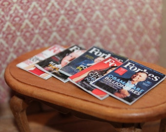 Forbes Magazines For Dollhouse