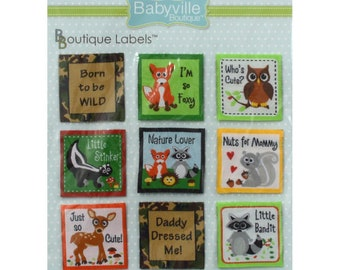Babyville Boutique Labels FREE SHIPPING