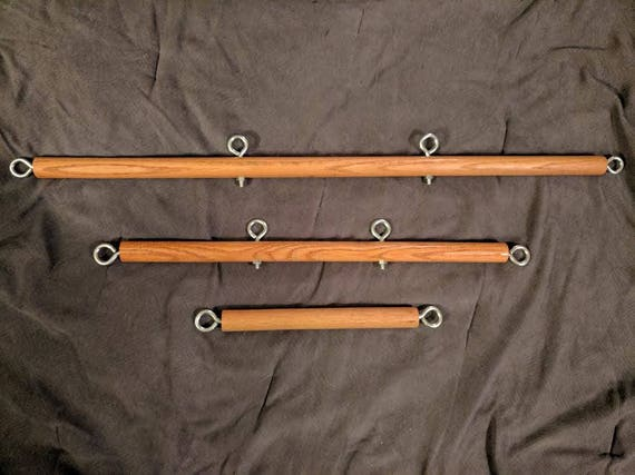 Bdsm wooden spreader bars