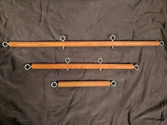 Bdsm wooden spreader bars