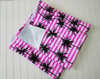 Picnic Blanket Waterproof- Large Picnic Blanket- Large Beach Blanket - Waterproof Blanket - Palm Tree Blanket, Beach Blanket