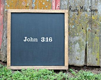 John 3:16 Sign