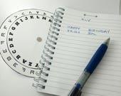 Pigpen Cipher Code Wheel ...