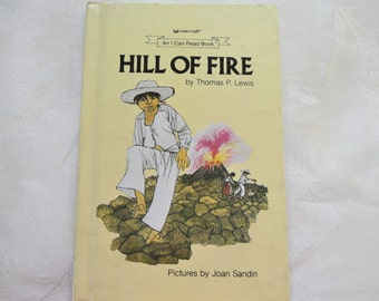 Hill Of Fire By Thomas P. Lewis An I Can Read Book 1971 Hardcover