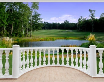 Golf wall mural Etsy