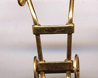 JMS 12K Gold Filled Dolly  Charm  Item: 14532