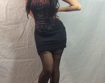 Custom Aura Noir dress