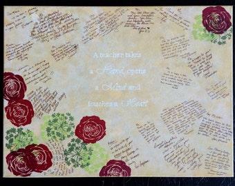 Rose Memory canvas