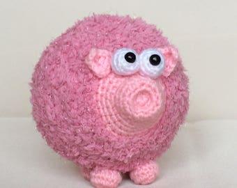 "PDFCrochet PATTERN_Pig ""Piggly"""