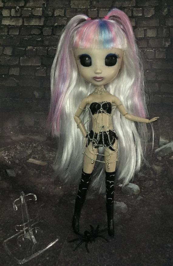 Apocalypse Black Eyed Sideshow Street Artist Original Undead Shibajuku Doll Movable Freak Stripper Spider Biohazard Baby