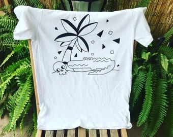 Alligator Tropical Tshirt