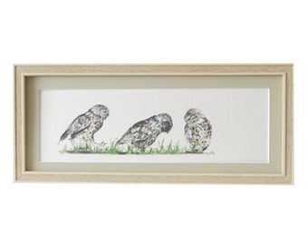 Little Owls Print