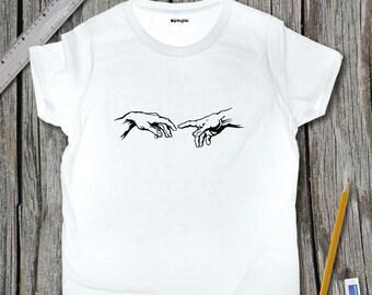 Michelangelo Sketch T-Shirt | SketchTee