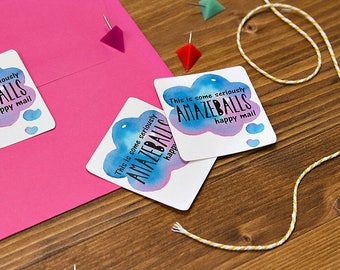 Amazeballs - Custom Stickers, Packaging Sticker, Sticker Sheet