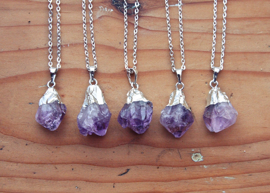 amethyst img miracle raw necklace products gold eye dipped