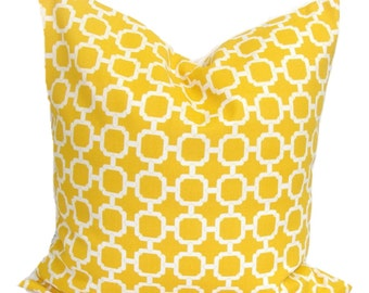YELLOW PILLOW.18x18 inch.Decorative Pillow.Cover.Home Decor.Housewares.Outdoor Decor..Indoor.Outdoor.Yellow Pillow.Yellow Cushion.Cm.Cushion