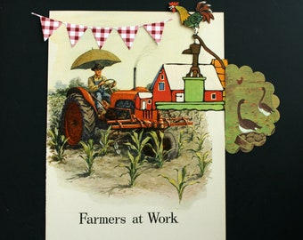 Farm Ephemera Pack, Homesteading Journal Embellishments, Farm Journal Supplies, Old Paper for Collage Smash Book and Snail Mail Art