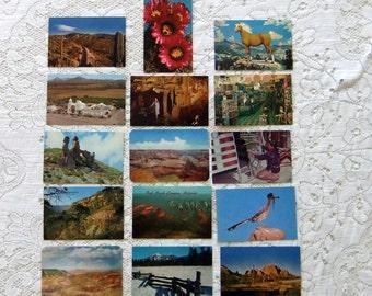Vintage Postcards of Southwestern United States