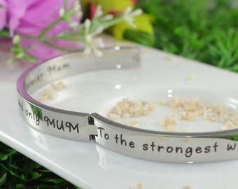 Silver Bangle, Gifts for Her, Mother Daughter, Handwriting Bangle, Promise Bangle, Personalised Bangle, Personalized Bangle Silver ONLY 39