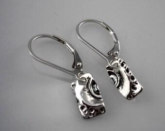 Sterling Silver earrings, silver earrings, minimalist earrings