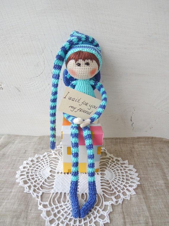 Items Similar To Christmas Gift Ideas Cute Elf Shelf Doll