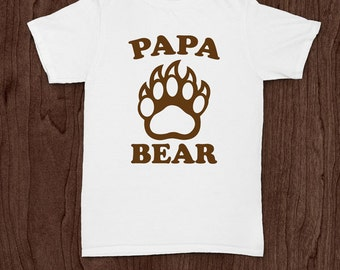 Papa bear t-shirt tee shirt tshirt Christmas dad father daddy family fun father's day grandfather family gift for dad best dad top dad to be