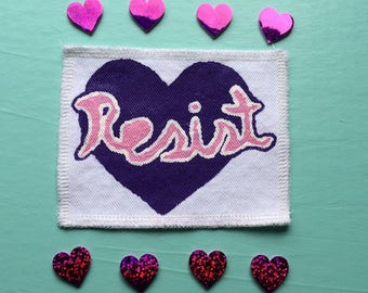 LIMITED EDITION Resist Patch // only 5 available