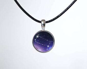 Zodiac choker Gemini Personalized choker Constellation jewelry Zodiac pendant Girls gift Zodiac jewelry Zodiac sign Astrology necklace