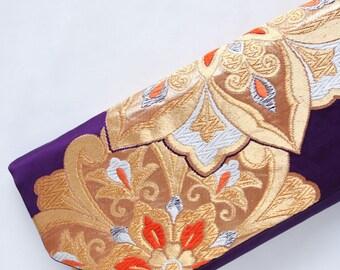 Japanese Bag   Kimono Bag   Boho clutch   Obi Clutch   Obi Bag   Kimono Clutch   Japanese Gift   Japanese Kimono Bag 