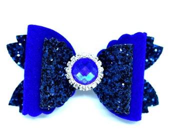 Tania Bows Blue