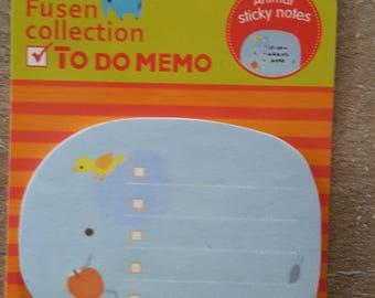 Sticky notes animal