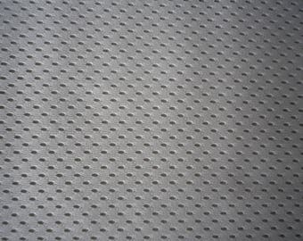 Beige cotton blend  aertex interesting novelty weave, wide range uses and projects