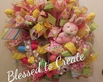 Adorable Easter Wreath