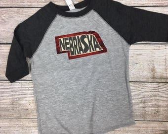 Toddler Nebraska tee