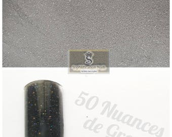 Resin acrylic nails 10gr 50 shades of Grey